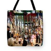 Colorful Beads At The Surajkund Mela Tote Bag