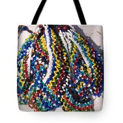 Colorful Beads Jewelery Tote Bag