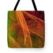 Colorful Beams 1 Tote Bag