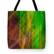 Colorful Beams 2 Tote Bag