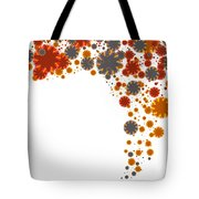 Colorful Blades Tote Bag