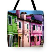 Colorful Burano Italy Tote Bag