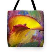 Colorful Calla Lily Tote Bag