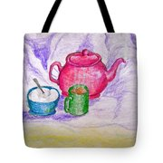 Colorful Coffee Tote Bag
