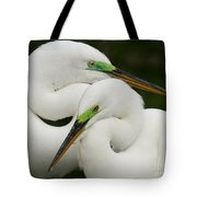 Colorful Couple Tote Bag