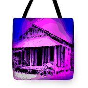 Colorful Cracker House Tote Bag