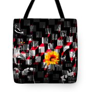 Colorful Cubed Beauty Tote Bag