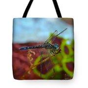 Colorful Dragon Fly Tote Bag