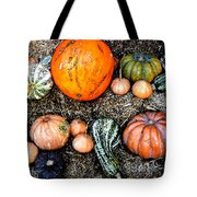 Colorful Fall Harvest Tote Bag