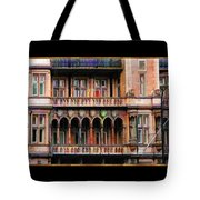 Colorful Fastasy British Building Tote Bag