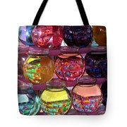 Colorful Fish Bowls Tote Bag