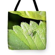 Colorful Garden Fly 2 Tote Bag