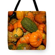 Colorful Gourds Tote Bag
