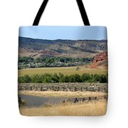 Colorful Hills Of Wyoming Tote Bag