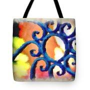 Colorful Ironwork Tote Bag