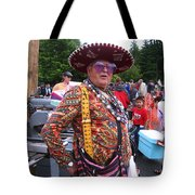 Colorful Man Of The Festival Tote Bag