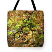 Colorful Maple Leaves Tote Bag