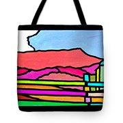 Colorful Massanutten Peak Tote Bag