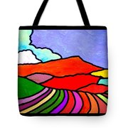 Colorful Massanutten Peak Two Tote Bag