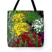 Colorful Mums Photo Art Tote Bag