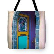 Colorful Porch Tote Bag