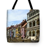 Colorful Posnan Tote Bag