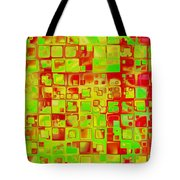 Colorful Squares II Tote Bag