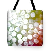 Colorful Straws Tote Bag