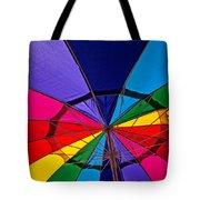 Colorful Umbrella Tote Bag