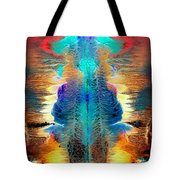 Colorful Water Color Painting Tote Bag