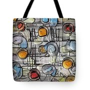 Colors Fighting To Get Out Tote Bag