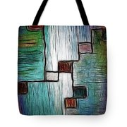 Colors In Shape Tote Bag