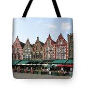 Colors Of Brugge Tote Bag