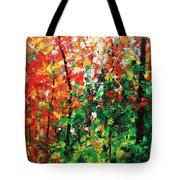 Colors Of October Tote Bag