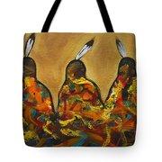 Colors Of Three Tote Bag