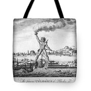 Colossus Of Rhodes Tote Bag