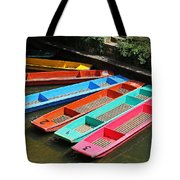 Colourful Punts Tote Bag