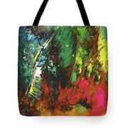 Colours Symphony Tote Bag