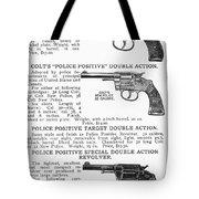 Colt Revolvers Tote Bag