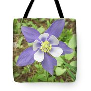 Columbine In The Woods Tote Bag