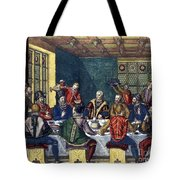 Columbus And The Egg Tote Bag