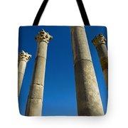 Column In Capitol In Ancient Roman City Tote Bag