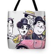 Comedians In Model T Tote Bag