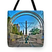 Coming And Going Downtown Main St Tote Bag