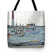 Coming Home - Barnegat Inlet Nj Tote Bag