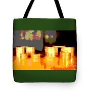 Coming Up Gold Tote Bag
