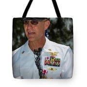 Command Master Chief Bryan Yarbro Tote Bag