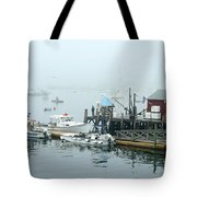 Commercial Lobster Dock Tote Bag