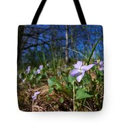 Common Dog-violet Tote Bag