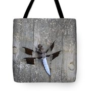 Common White Tail Dragonfly Tote Bag